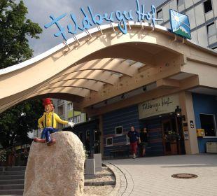 Einladender Eingang :D Familotel Hotel Feldberger Hof