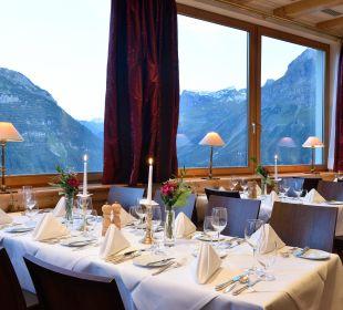 Ausblick vom Restaurant Hotel Goldener Berg