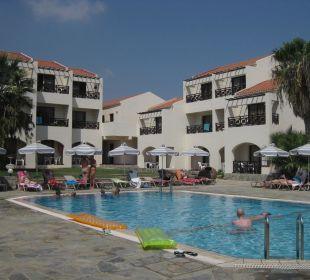 Eigentlich schön, aber Hotel Mimosa Beach