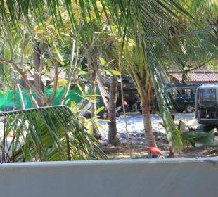 Ocean Pool Villa 41- seitlicher Terrassenblick
