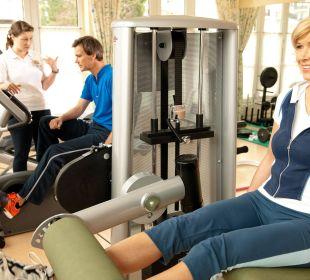Fitnessraum Grand Park Hotel Health & Spa