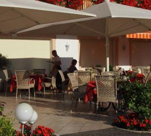 Uitzicht terras Hotel Grafenstein