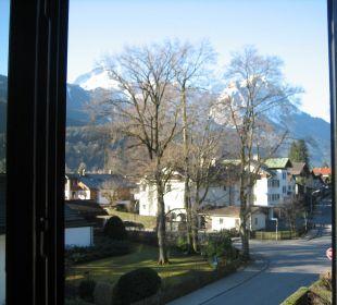Vom Zimmer zur Alpspitze und Zugspitze Hotel Staudacherhof