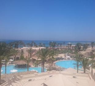Aussicht von oben Hotel Iberotel Makadi Beach