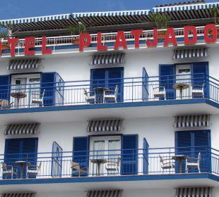 Upper balconies Hotel Platjador