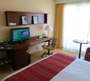 Blick ins Zimmer 509 Hotel Courtyard by Marriott München City Center