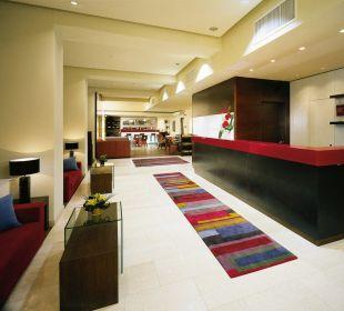 Lobby K+K Hotel Elisabeta