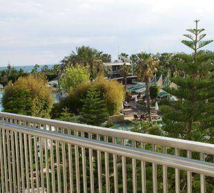 Blick von Bar aus Hotel Concorde De Luxe Resort