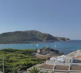 Ausblick aus unserem Zimmer Hotel & Spa S'Entrador Playa