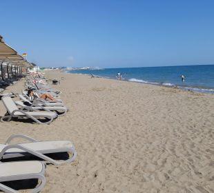Na plaży Bellis Deluxe Hotel
