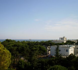 Ausblick vom Zimmer Hotel Cristallo Lignano