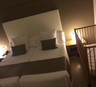 Schlafzimmer Suite Hotel Playa Esperanza