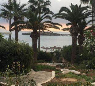 Meerblick von der Anlage Hotel Nissi Beach Resort
