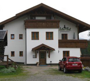 Eingangsbereich Ferienhaus Adlerhof
