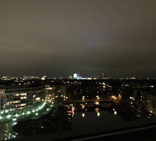 Hammer Ausblick von der Dachterrasse Ameron Hotel Abion Spreebogen Waterside Berlin