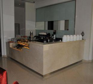Cafe-Bar in der Lobby Vida Hotel Downtown Dubai