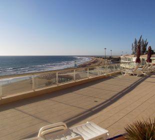 Ausblick von unserer Terrasse  Hotel Atlantic Beach Club
