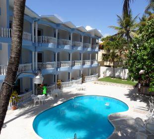 Pool mit Bar Hotel Tropical Clubs Cabarete