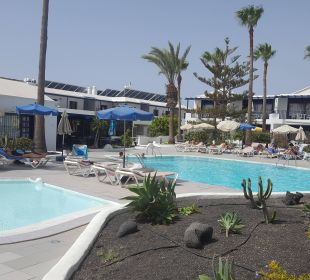 Pool mit Poolbar Bungalows & Appartements Playamar