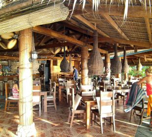 Blick ins Restaurant Hotel Sipalay Easy Diving and Beach Resort