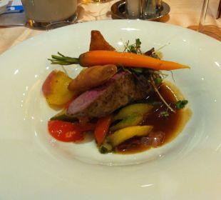 Sehr leckeres Essen Rieser's Kinderhotel Buchau