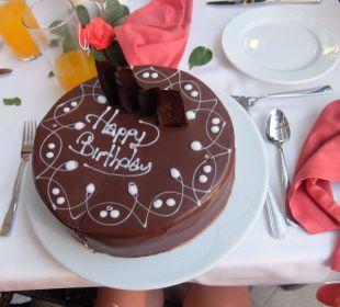 Geburtstagskuchen - war lecker DANKE Hotel Seamelia Beach Resort