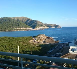 Blick vom Familienzimmer  Hotel & Spa S'Entrador Playa