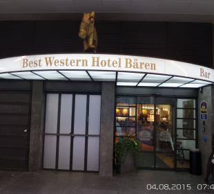 Hotel entrance Best Western HOTELBERN