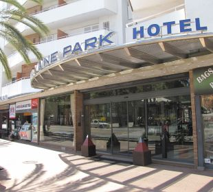 In the heart of Lloret Hotel Xaine Park