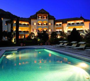 Das Hotel Hanswirt bei Nacht Hotel Hanswirt