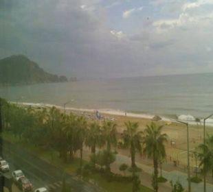 Vom Balkon Kleopatra Melissa Hotel