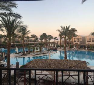 Blick vom Zimmerbalkon Hotel Iberotel Makadi Beach