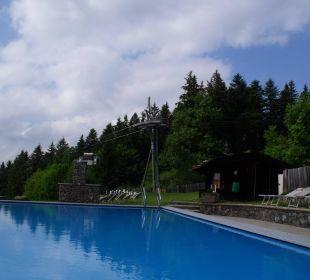 Pool und Seilbahn Alpenhotel Schliersbergalm