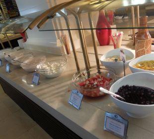 Joghurt - frisches Obst zum Frühstück Hotel Seamelia Beach Resort