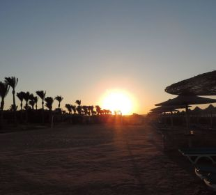 Vom Strand Richtung Sonne Stella Di Mare Beach Resort & Spa Makadi Bay