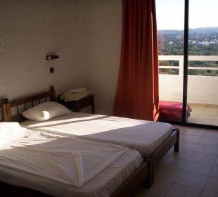 Matratzen alt, pieflecken drauf, zimmer 209   Hotel Karavos