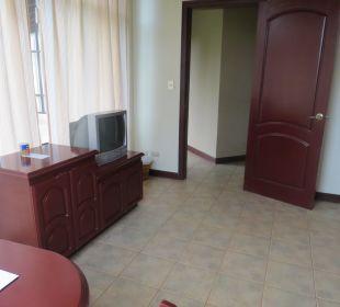 Wohnzimmer oder 2. Zimmer Hotel Montana de Fuego