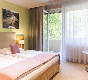 Willkommen im Standardzimmer mit Balkon Das Capri.Ihr Wiener Hotel
