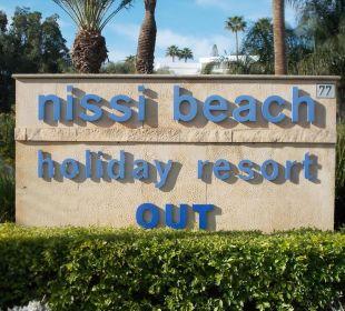 Wir kommen wieder Hotel Nissi Beach Resort