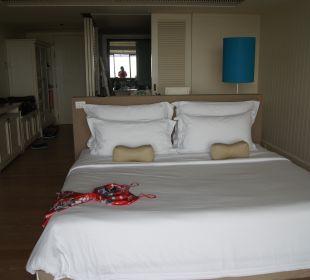 Zimmer vom Balkon aus gesehen Hotel Rest Detail Hua Hin