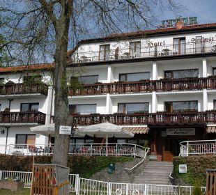 Hotel vom See aus Hotel Seelust
