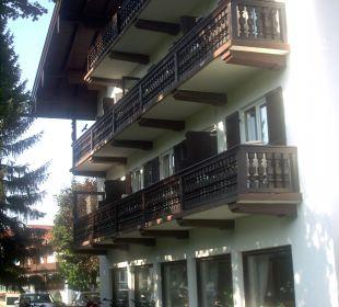 Westansicht des Hotels Hotel Bellevue
