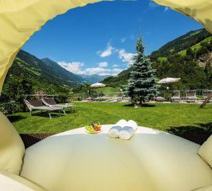 Liegewiese Hotel Alpenhof Passeiertal