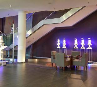 Moderner Eingangsbereich Hotel centrovital
