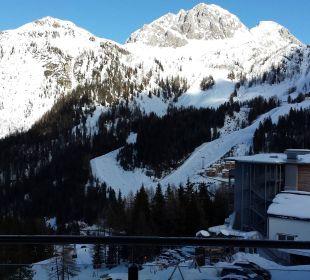 Blick von der Suite  Hotel Gartnerkofel