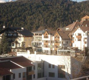 Blick auf das  Hotel Schgaguler- Rückfront