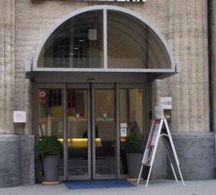 Eingang Best Western HOTELBERN