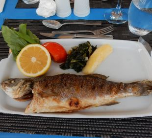 """lecker"" im Fischrestaurant SENTIDO Perissia"