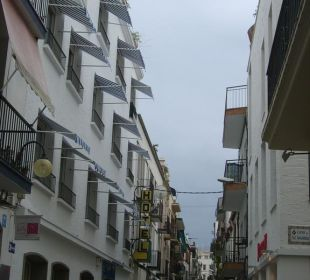 Hotelansicht - straßenseitig Hotel Galeon