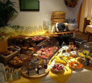 Unser reichhaltiges Frühstücksbuffet Naturgesund Haus Viktoria